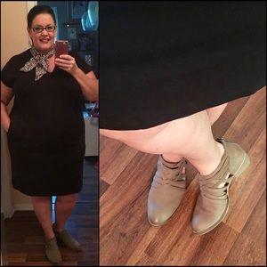 Eloquii Essential Tee Dress. Size 16